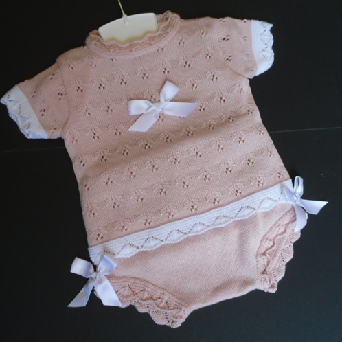 Knitted Top and Pant Set