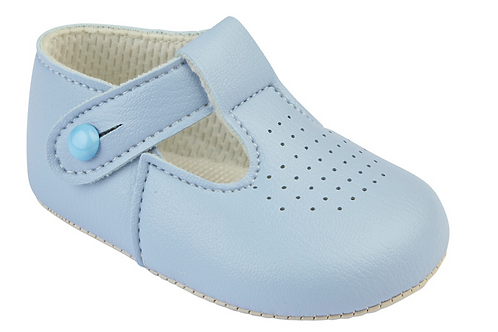 Light Blue Soft Sole Shoe