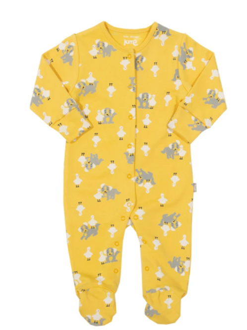 Pup and Duck Sleepsuit