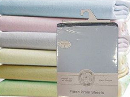 Fitted Pram Sheets
