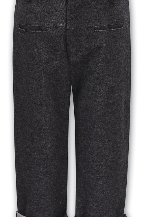 Sarah Louise Charcoal Grey Trousers