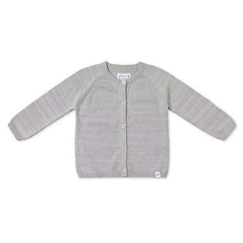 Cotton Boulevard Knitted Cotton Cardigan
