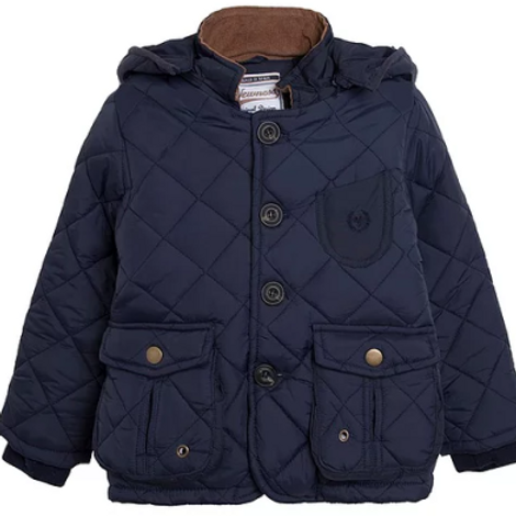 Junior Boys Dark Blue Coat