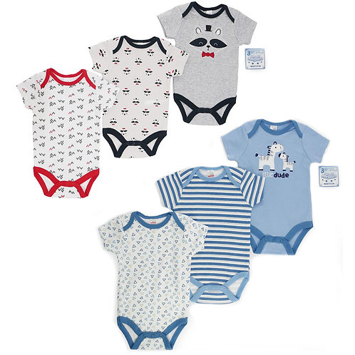 Cotton Triple Pack Bodysuits