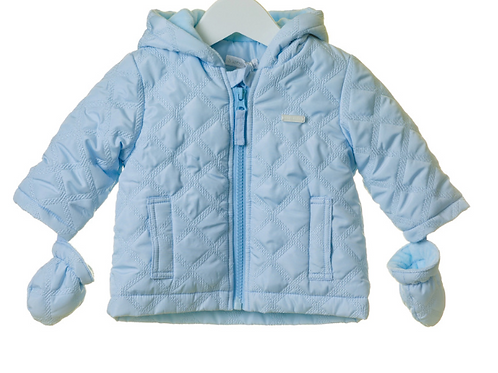 Blues Baby Diamond Quilted Jacket