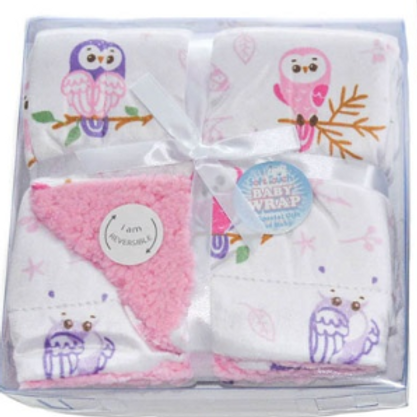 Owls boxed double layer wrap