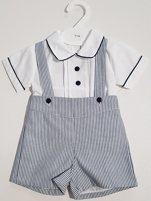 Candy Stripe Short and Shirt Set.