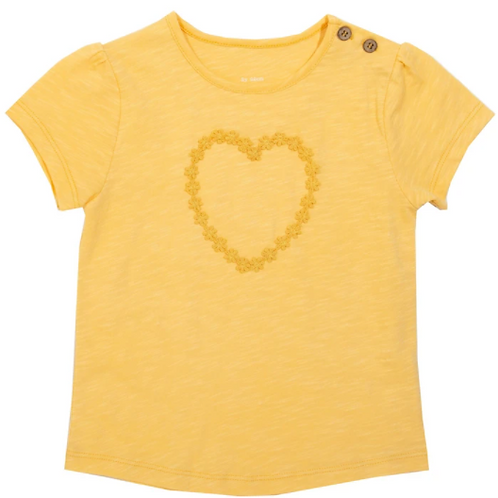 Daisy Heart T-Shirt