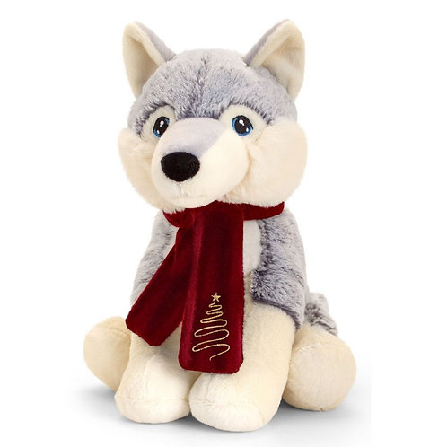 KEELECO HUSKY WITH SCARF
