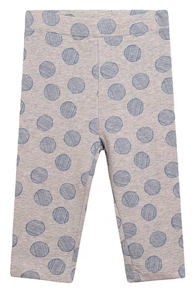 Grey and Blue Spotted Leggings