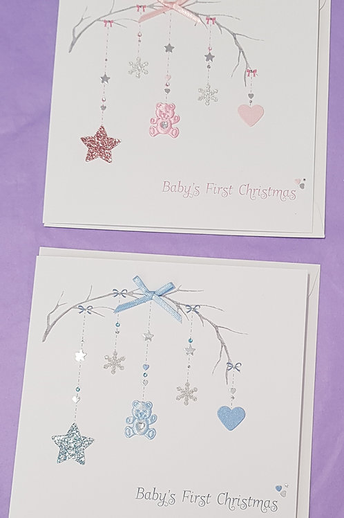 Large Baby's First Christmas Cards