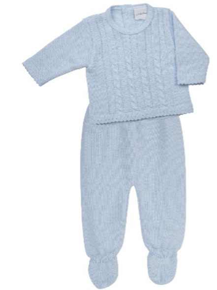 Boys Knitted Top and Leggings