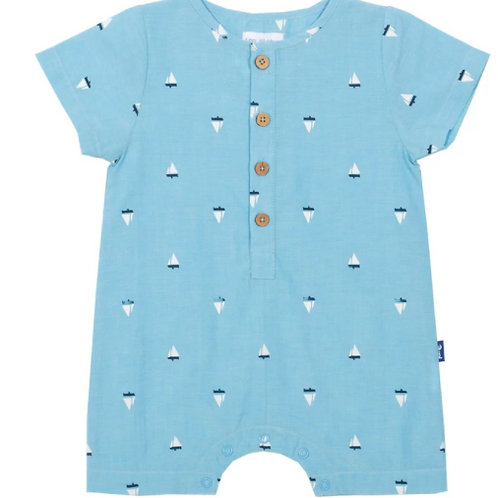 Little Boats Romper