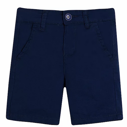 Dark Blue Chino Shorts