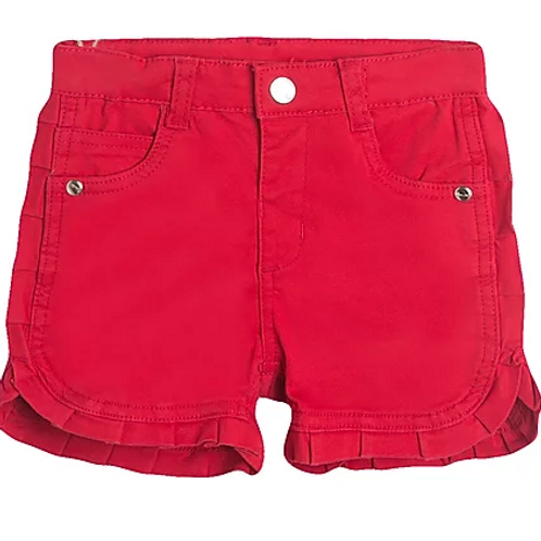 Red Frilly Shorts