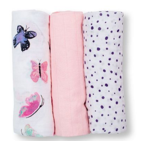 Mini Muslin Cloth - Butterfly