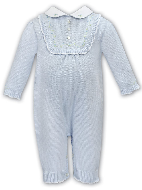 Sarah Louise Sky Knitted All-in-One