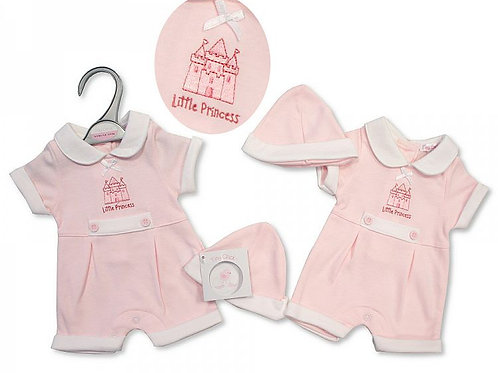 Premature Girls Romper, Little Princess