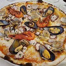 Pizza frutta di Mare