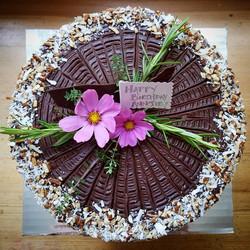 Specialty Cake w/ birthday message