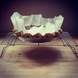 scratch-baked pie crust