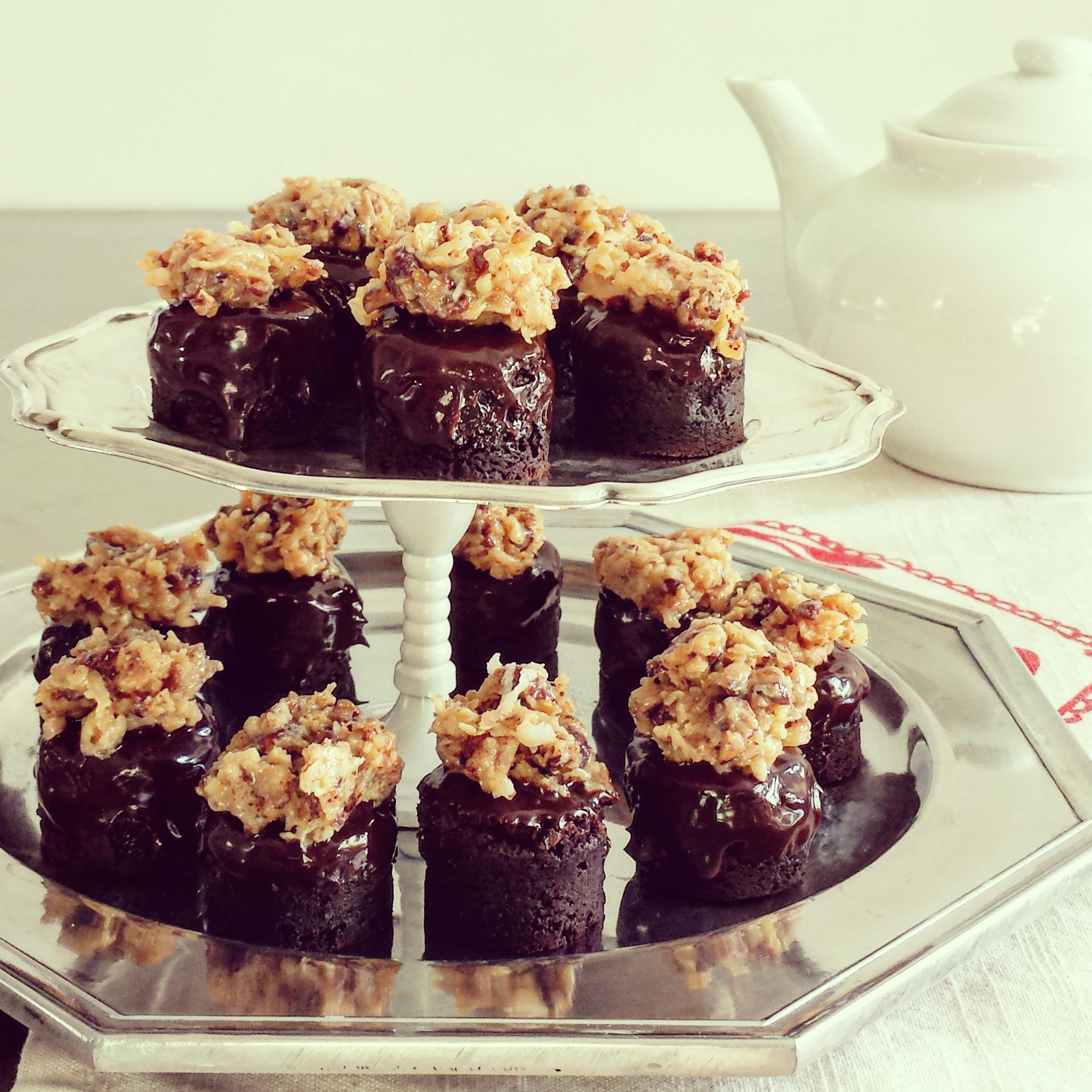 German Chocolate Minis