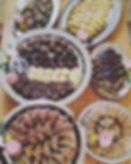 'Group Gatherings' Assorted desserts