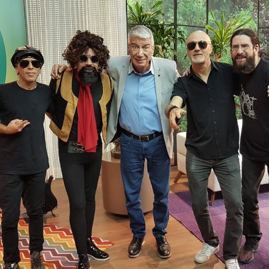 Com minha banda e Décio Piccinini