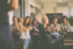 Evento de meetup (encuentro profesional)