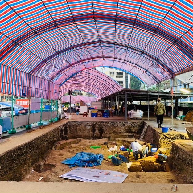 小島走讀-帶遊客走入考古現場認識地方歷史