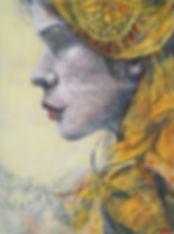 The Bride, 16x12, egg tempra (website).j