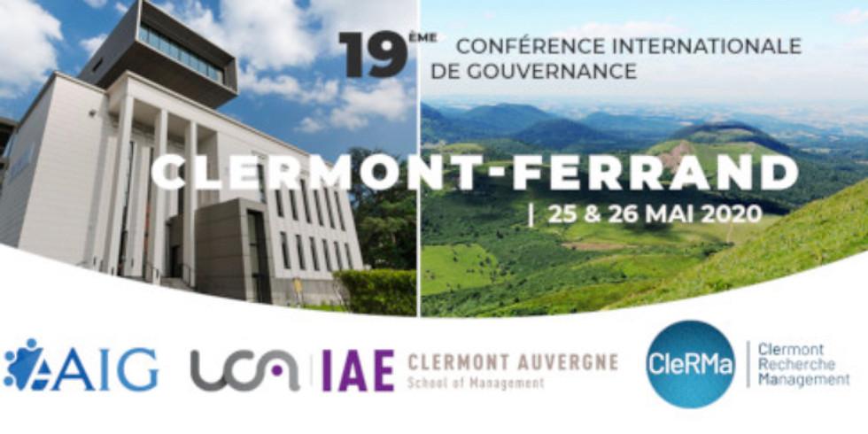 Conférence Internationale de Gouvernance des Entreprises