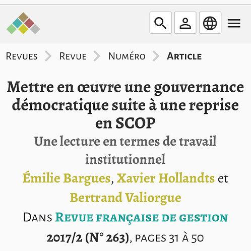 Revue Française de Gestion