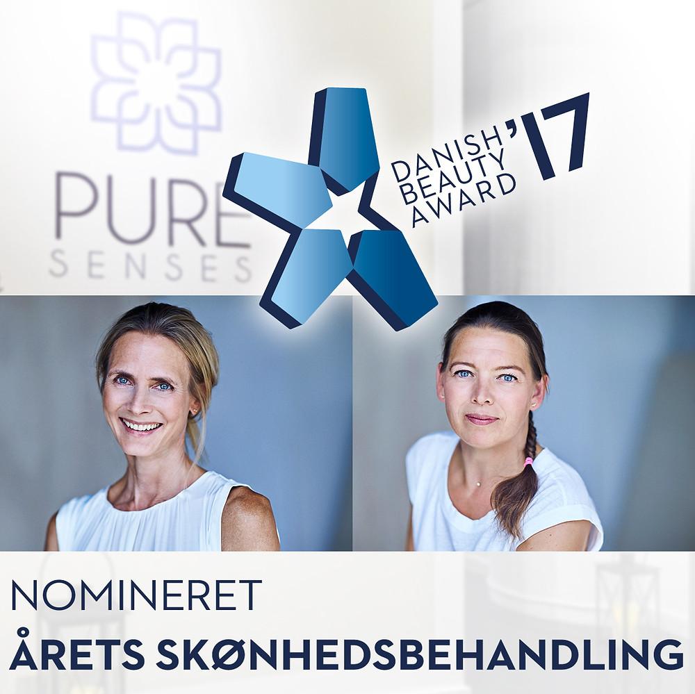 Helene Mathiesen og Henriette Kaas nomineret til Danish Beauty Award 2017 for deres behandling