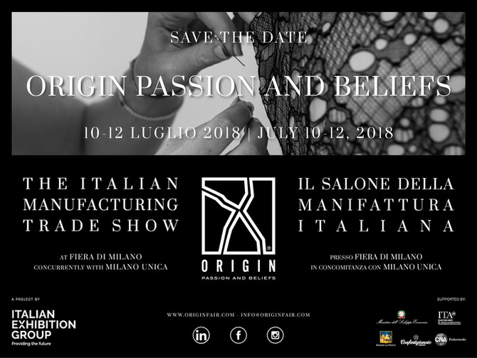 "SAVE THE DATE ""ORIGIN FAIR 2018"""