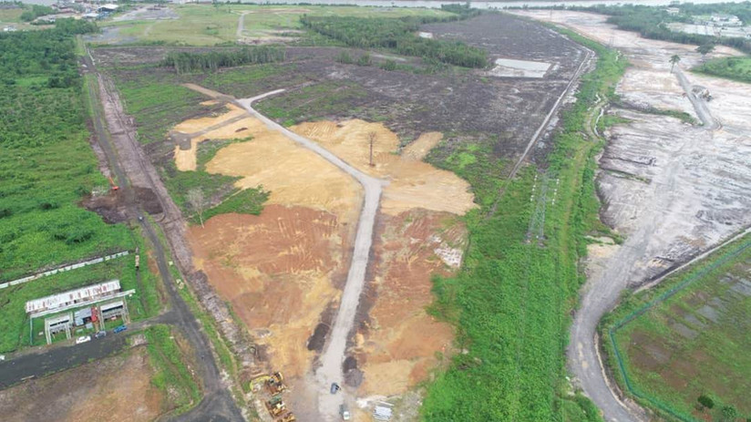 Site Clearing and Earthworks at Lot 2981 & 2989, Block 12, Muara Tebas Land District, Kuching