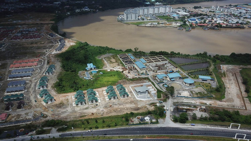 Site Clearing and Earthfilling Works for Darul Hana 1E-2, Kuching