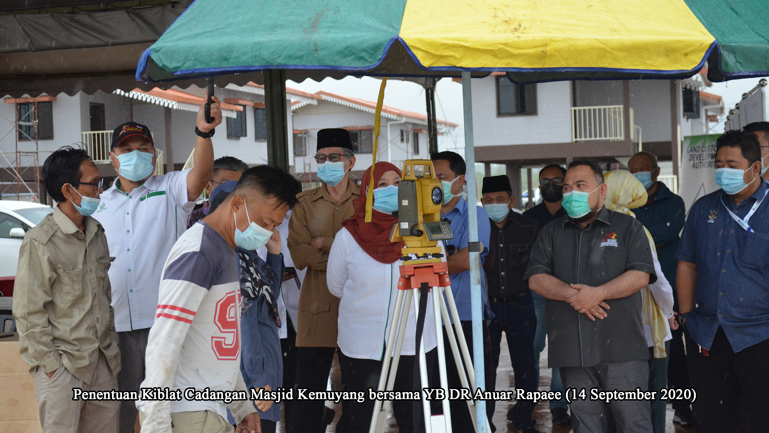 016 Penentuan Kiblat Cadangan Masjid Kem