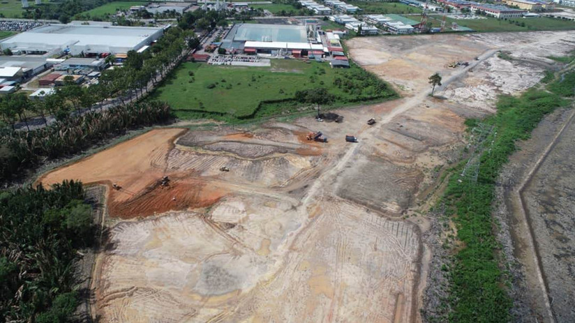 Site Clearing and Earthworks at Lot 2981 & 2989, Block 12, Muara Tebas Land District, Kuching 2