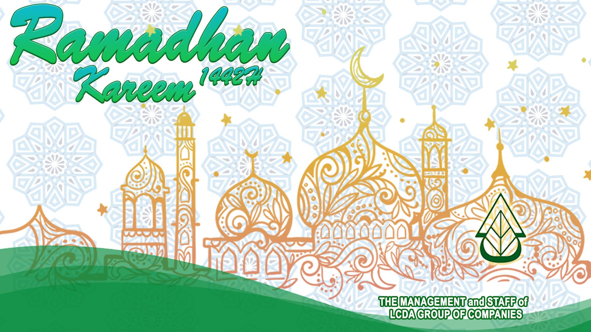 Website Banner Ramadan 2021 New Layout .