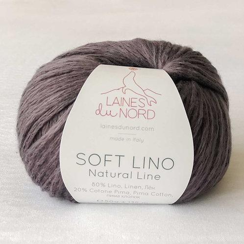 Soft Linen Yarn - Charcoal