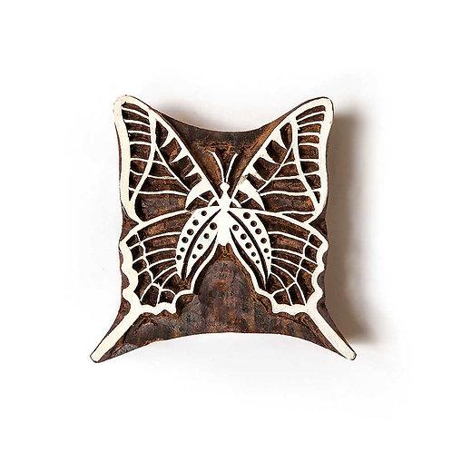 Handcarved Wooden Printing Block #310