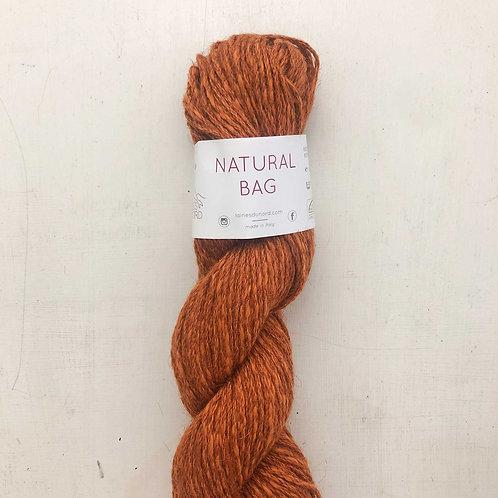 Natural Bag Jute Yarn - Rust