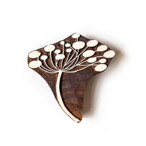 Handcarved Wooden Printing Block #311