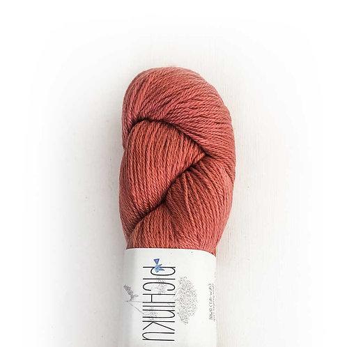 "Pichinku ""TAWA"" Merino Silk - Cochineal Rouge"
