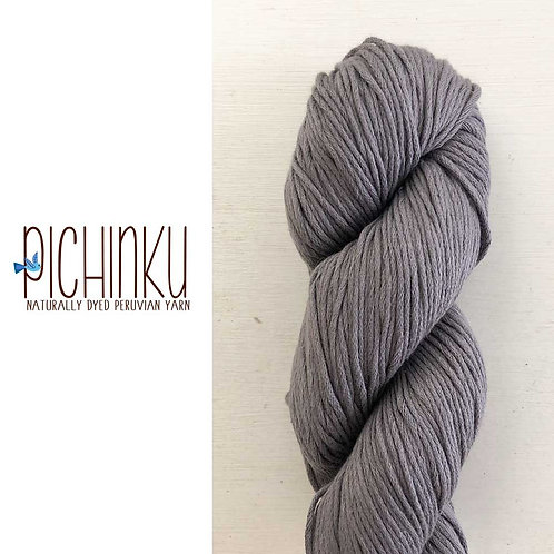 Pichinku Chunka Organic Cotton Yarn - Ceniza