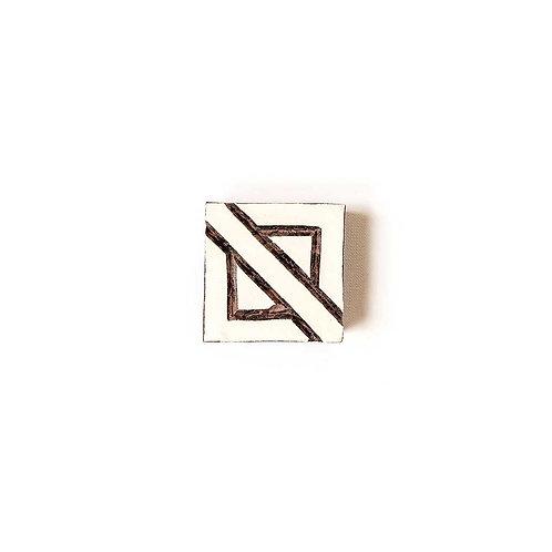 Handcarved Wooden Printing Block #201