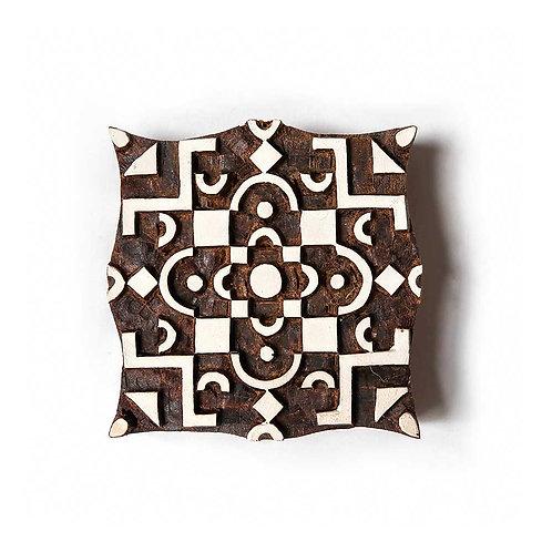 Handcarved Wooden Printing Block #319