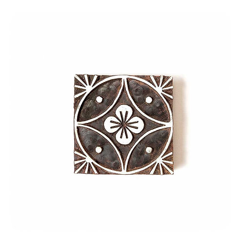 Handcarved Wooden Printing Block #303