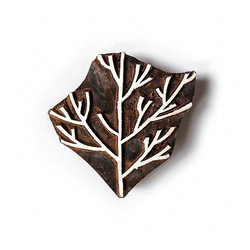Handcarved Wooden Printing Block #321
